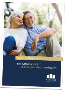 Broschüre für Immobilienbesitzer, die ihr Haus oder Ihre Wohnung in Düsseldorf verkaufen möchten
