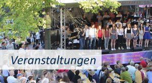 Konzerte und andere Veranstaltungen in Düsseldorf, die durch ASSVOR gesponsort werden