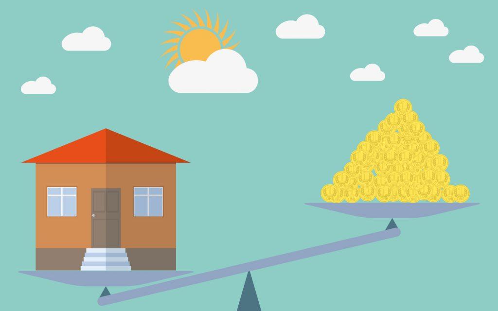 Immobilienüreise früher und heute, war es früher preiswerter ein Haus zu kaufen?