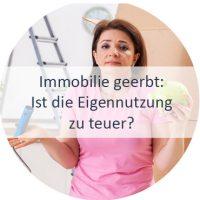 Immobilie geerbt, Haus, Wohnung, Eigennutzung oder verkaufen, Düsseldorf