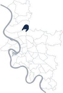 Stadtteilkarte Düsseldorf-Lichtenbroich
