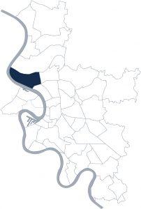Stadtteilkarte Düsseldorf-Stockum