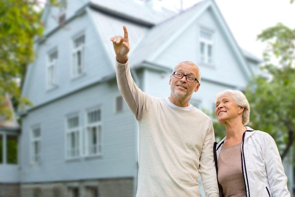 Immobilie oder Haus im Alter, verkaufen vermieten, seniorengerecht