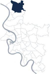 Stadtteilkarte Düsseldorf-Angermund