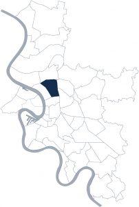 Stadtteilkarte Düsseldorf-Derendorf