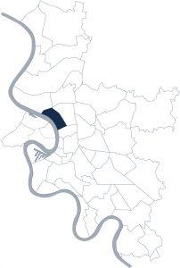 Stadtteilkarte Düsseldorf-Golzheim