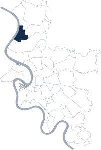 Stadtteilkarte Düsseldorf-Kaiserswerth