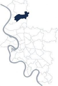 Stadtteilkarte Düsseldorf-Kalkum