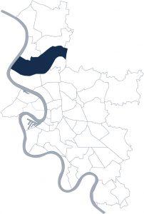 Stadtteilkarte Düsseldorf-Lohausen