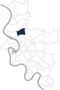 Stadtteilkarte Düsseldorf-Unterrath
