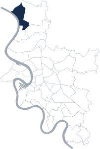 Stadtteilkarte Düsseldorf-Wittlaer