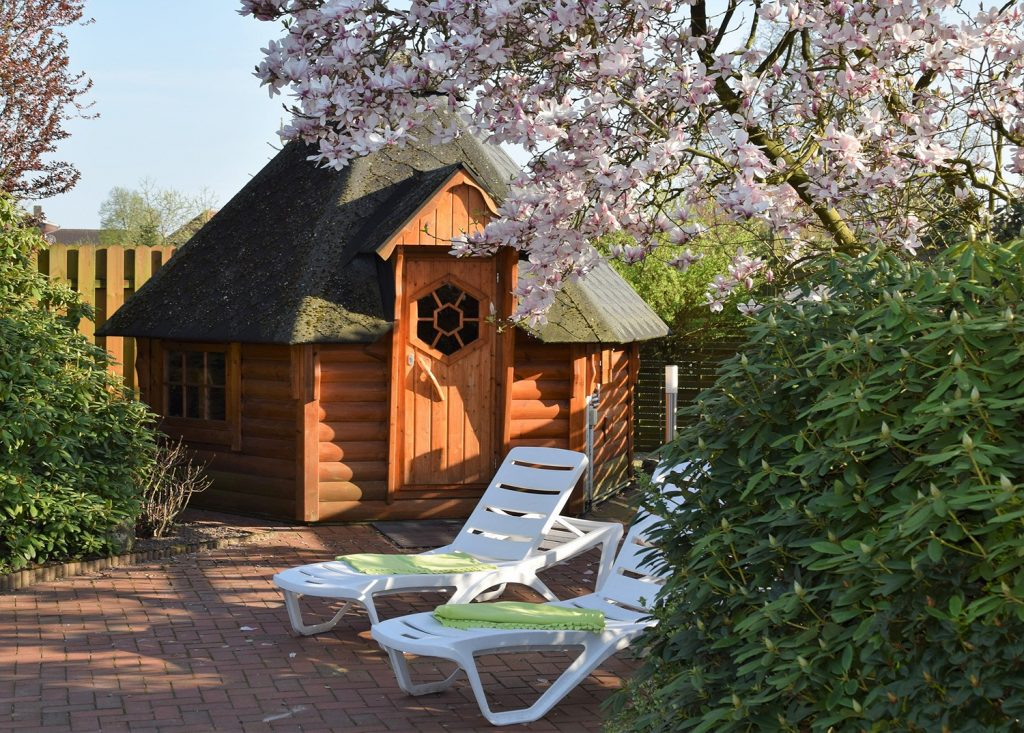 Sauna, Außensaune, Gartengestaltung, Düsseldorf