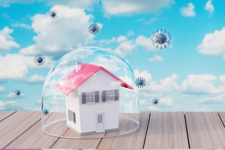 Immobilienmakler und Corona, arbeit aus dem Homeoffice