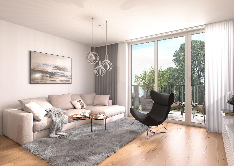wohnen in mülheim-raadt, wohnnen in muelheim-raadt, Wohnung kaufen in Raadt, Wohnung kaufen in Mülheim, Wohnung kaufen in Muelheim_Wohnzimmer