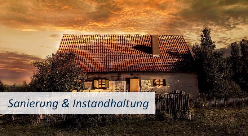 Beratung Haus verkaufen, Tipps Wohnung verkaufen, Wichtiges für den Immobilienverkauf, was muss beim Hausverkauf beachtet werden Klickbild Sanierung Instandhaltung