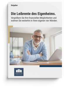 Ratgeber Mockup Leibrente Verrentungsmodelle Rente Rentenhöhe Zusatzrente Immobilienverrentung Nießbrauch Rückmietung