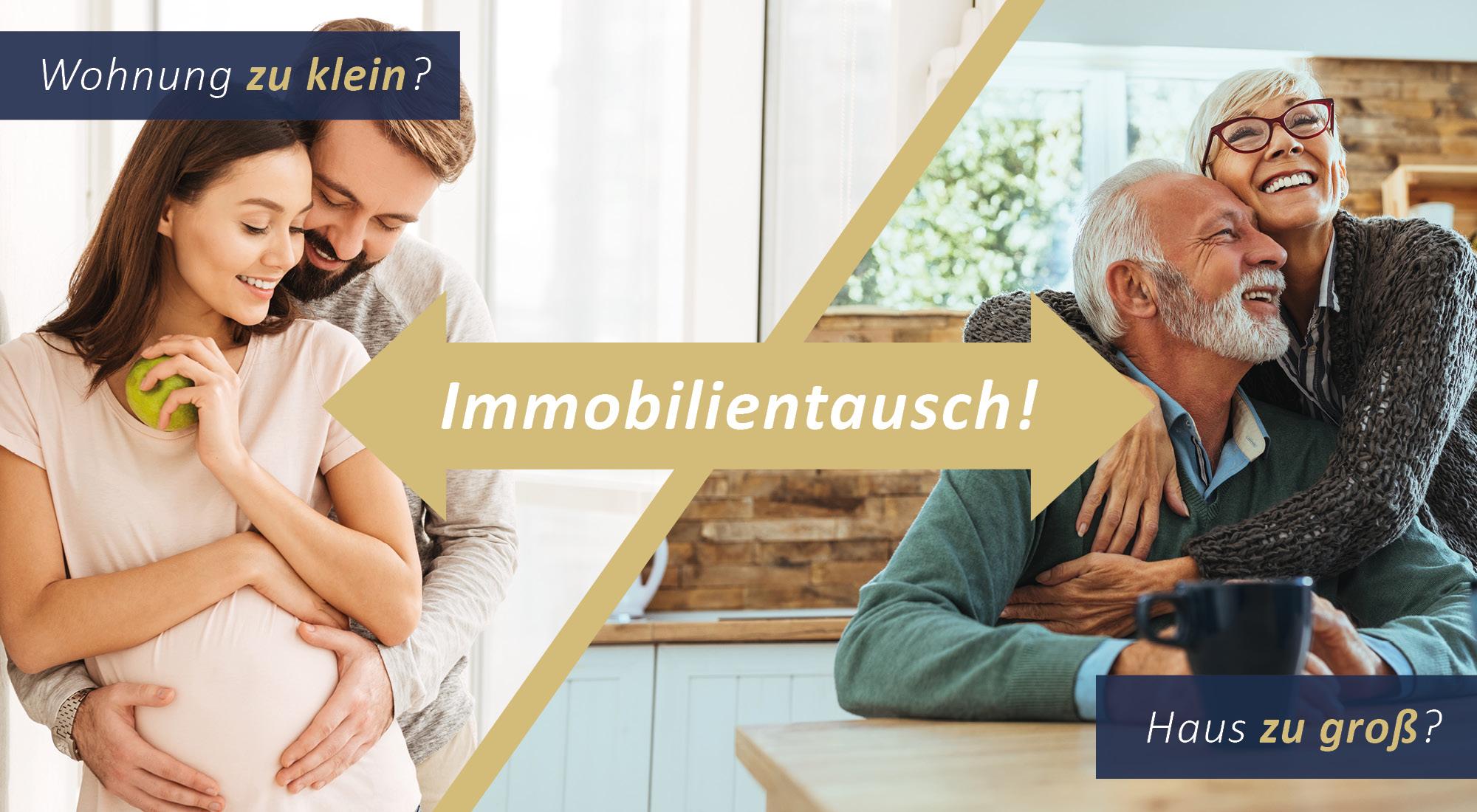 Immobilienmakler Düsseldorf_Linkbild Immobilientausch Haus zu groß - Wohnung zu klein